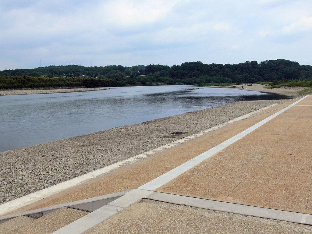 那珂川護岸工事完成